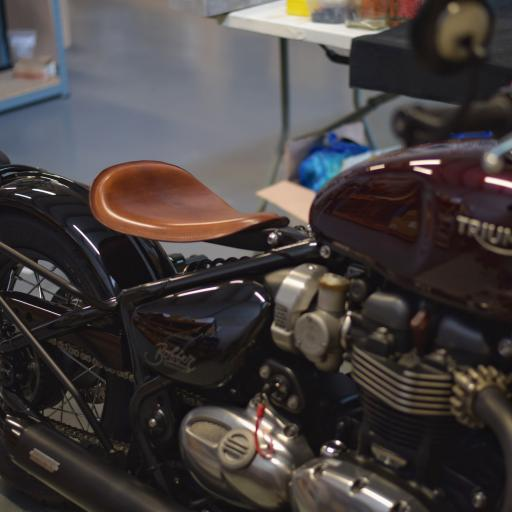 Coming soon: Lone Rider Seat for Triumph Bonneville Bobber